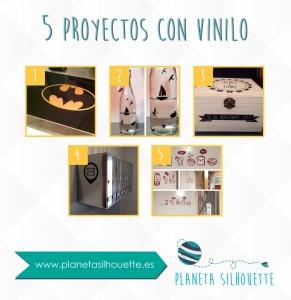 5 proyectos con vinilo