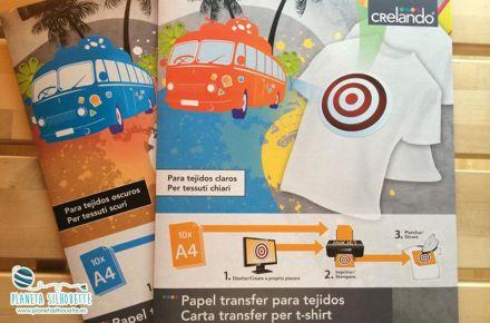Papel transfer Crelando (Large)