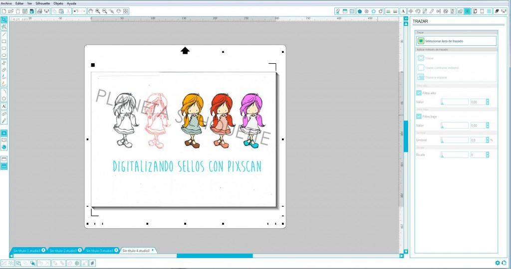 Digitalizando sellos con Pixscan