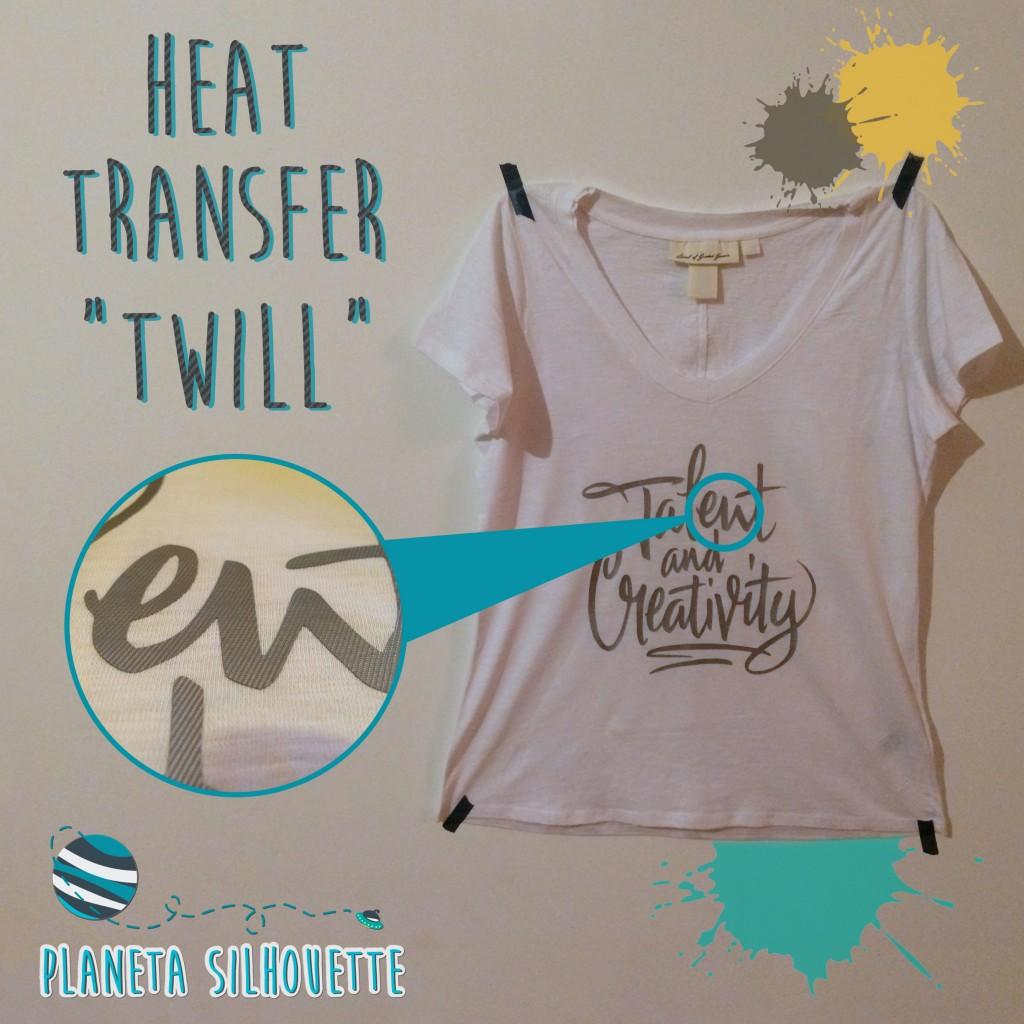 heat transfer twill