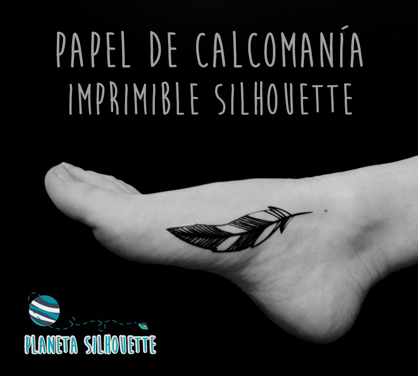 Papel calcomania Silhouette