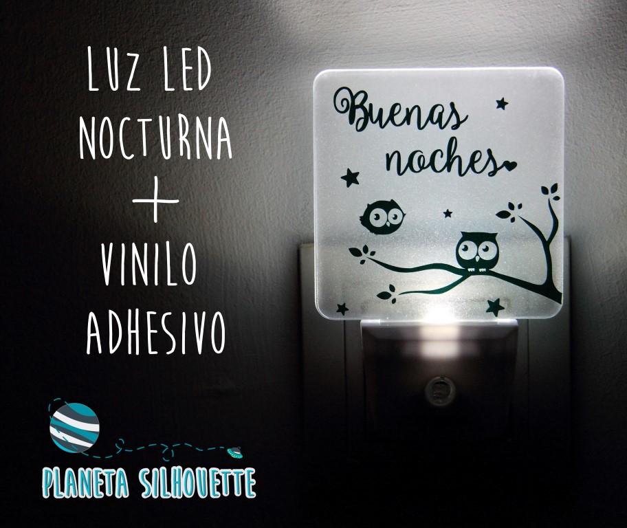 luz led con vinilo