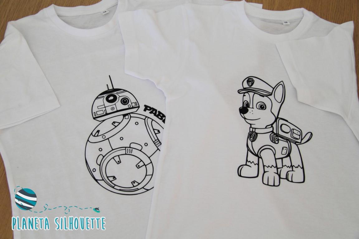Camisetas para colorear con tu Silhouette | Planeta Silhouette