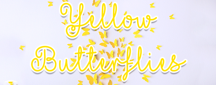 Yellowbutterflies